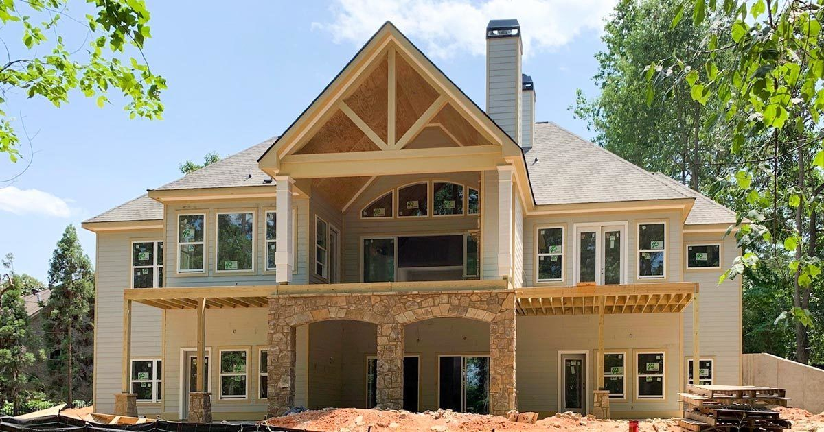 Photo of Plan 24392TW: One-Story Country Craftsman House Plan with Screened Porch