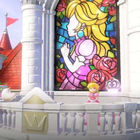 Bowin Down Before The Queen Mario Art Peach Mario Super