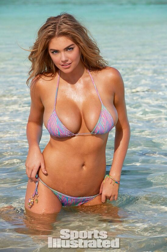 c2d3e42b1c768 Kate Upton on the Flip Cover of Sports Illustrated Swimsuit Edition - boobs  everywhere