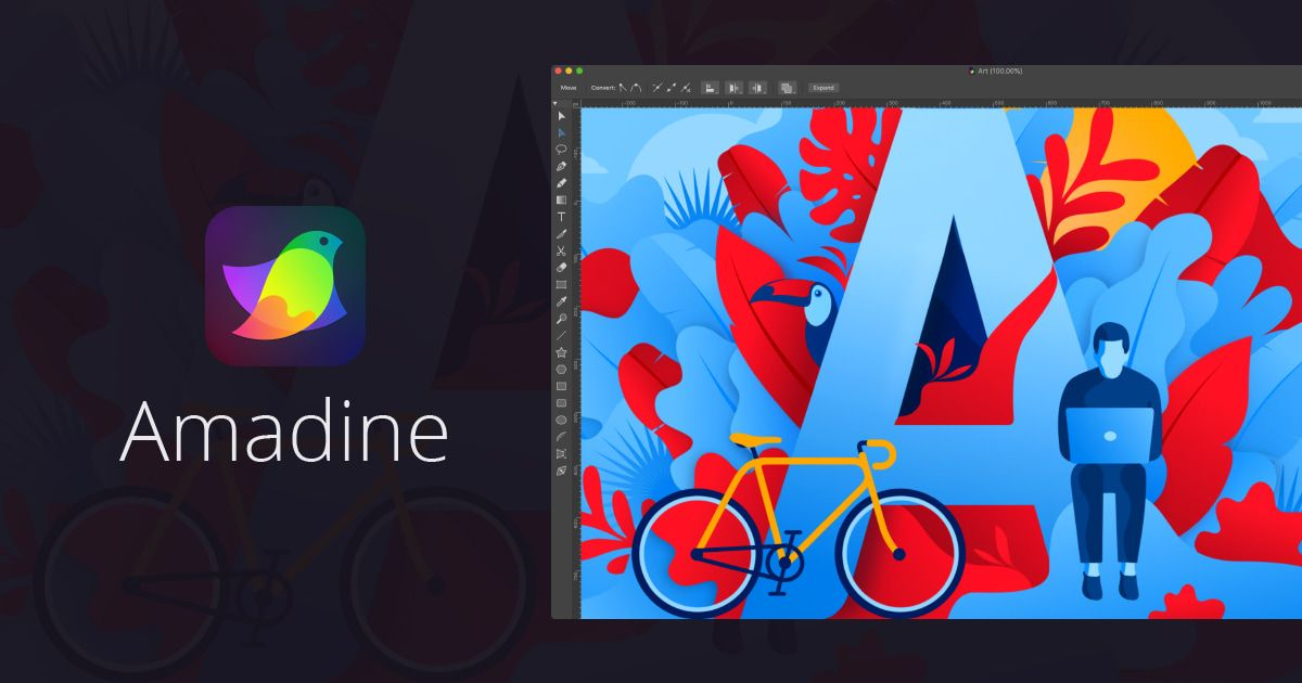 Amadine Brand New Vector Drawing Software Drawing Software Graphic Design Software Vector Graphics Design