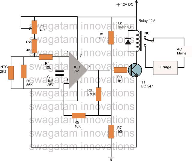 Como fazer um circuito automático de controlador de