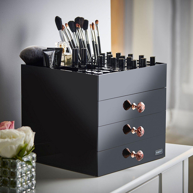 25+ Fabulous Makeup Storage Design Ideas To Keep Your Makeup images