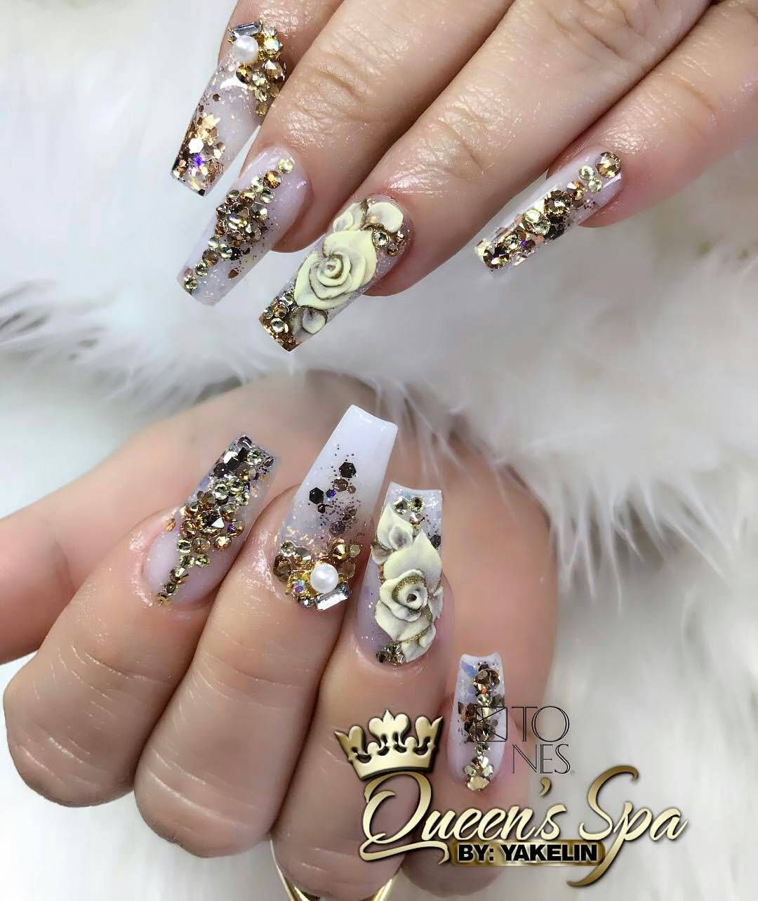 Amazing nail art made using tones products pro nails pinterest amazing nail art made using tones products prinsesfo Images