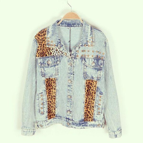 Animalistic Denim Jacket