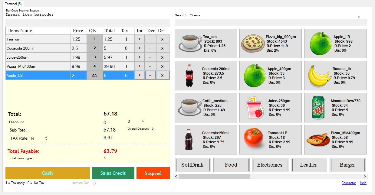 Advance Point of Sale System (POS) | Website | Point of sale