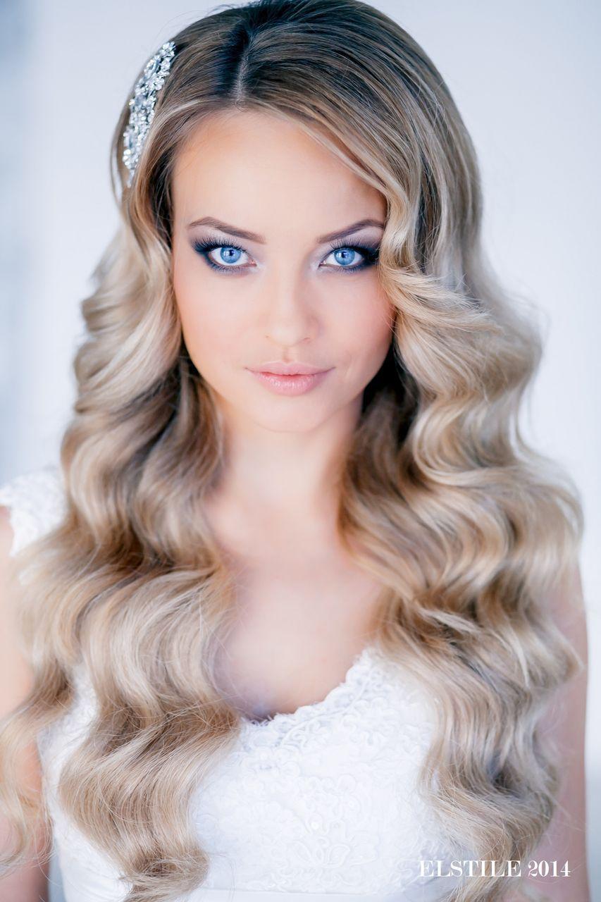 Breathtaking natural wedding make up for blue eyes, blonde ...