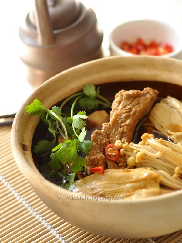 Dried bean curd sticks and bak kut teh hong kong food blog with food forumfinder Choice Image