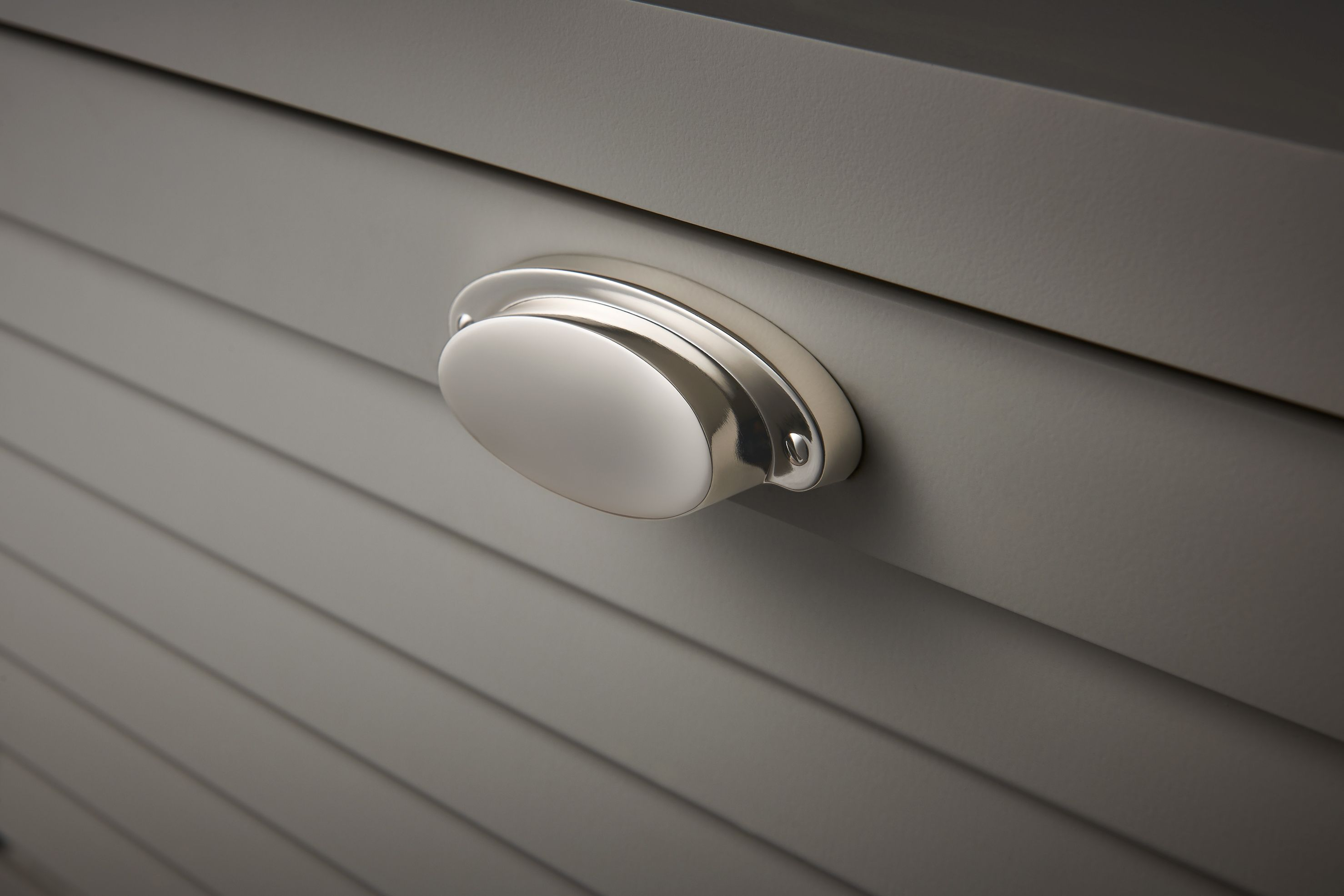 Elegant Nickel Finish Cabinet Hardware