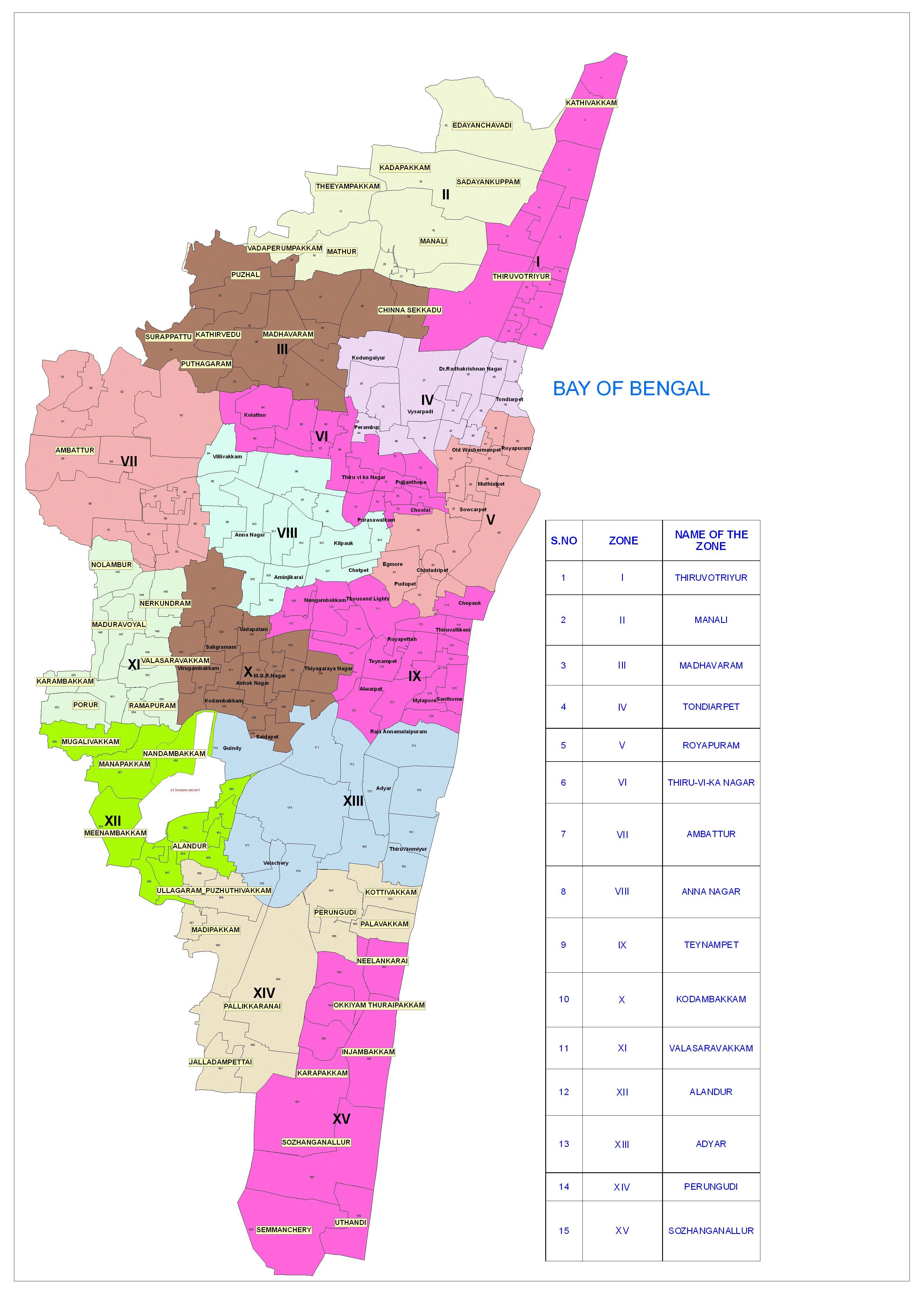 Pin by Thisismyindia on chennai map Pinterest Chennai City maps