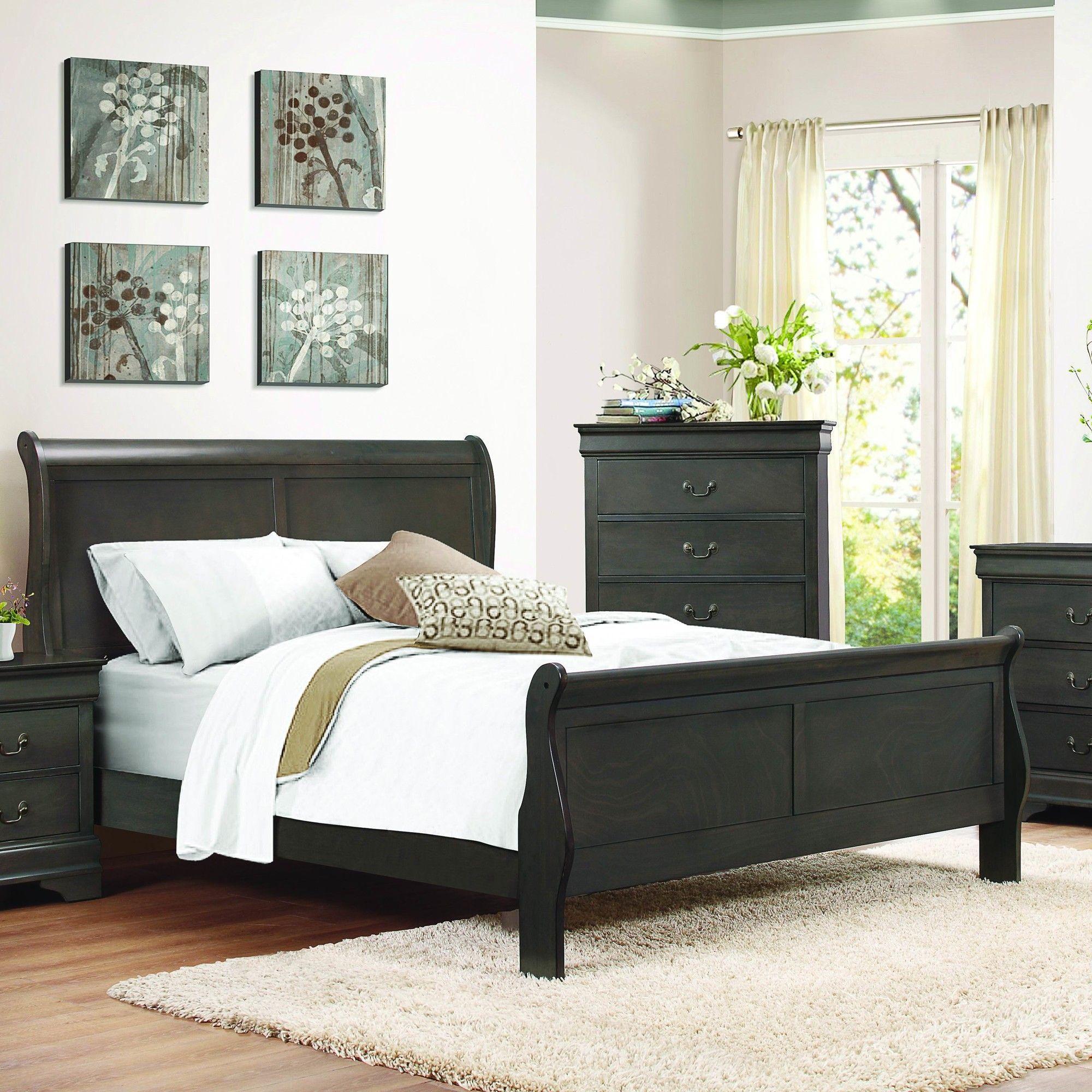 Waynesburg Sleigh Bed