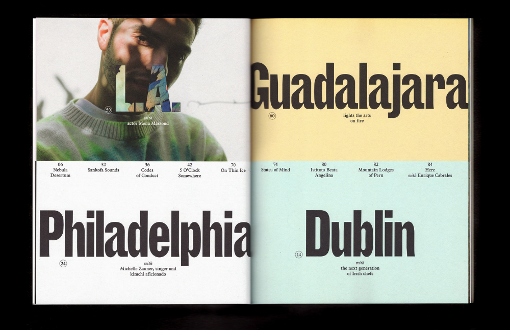 Here Magazine, No. 8, 2019 - Fonts In Use   Typed quotes ...