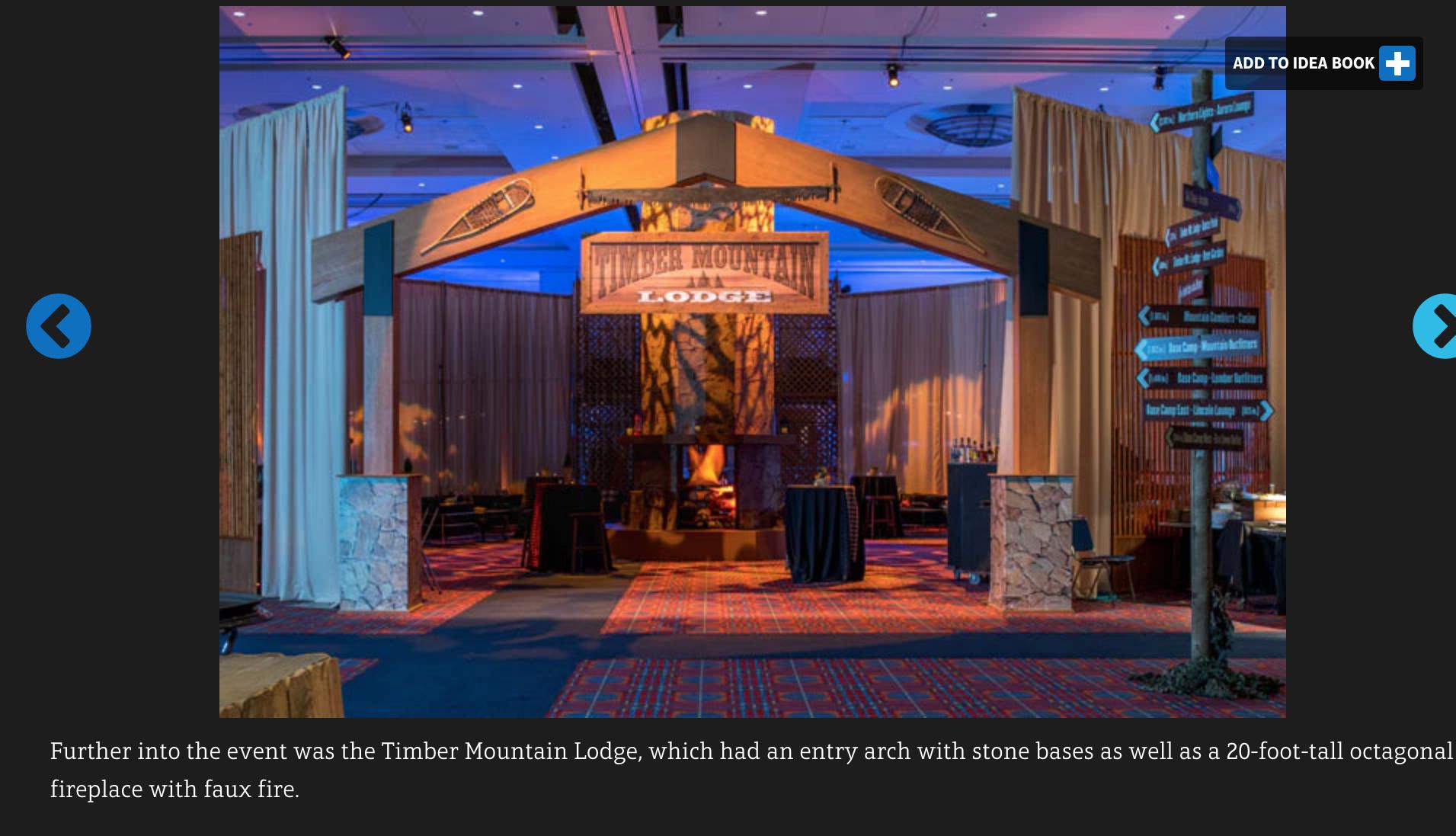 Ski Lodge Winter Themed Event Corporate Event Design Corporate Events Decoration Lounge Design