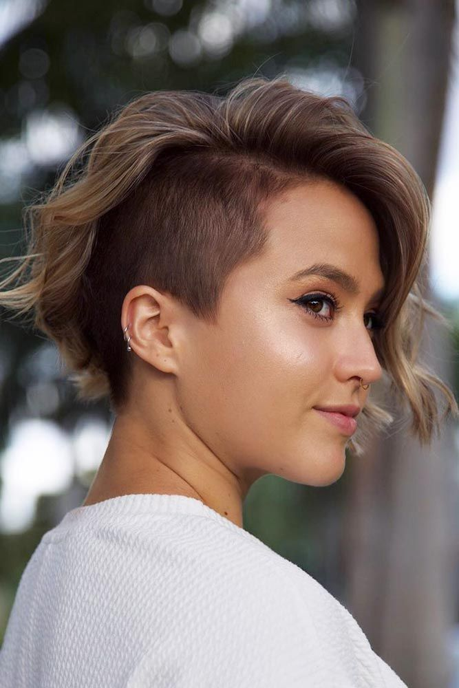 35 Fabulous Asymmetrical Haircut Ideas To Freshen Up Your Style Asymmetrical Haircut Undercut Bob Haircut Short Hair Styles