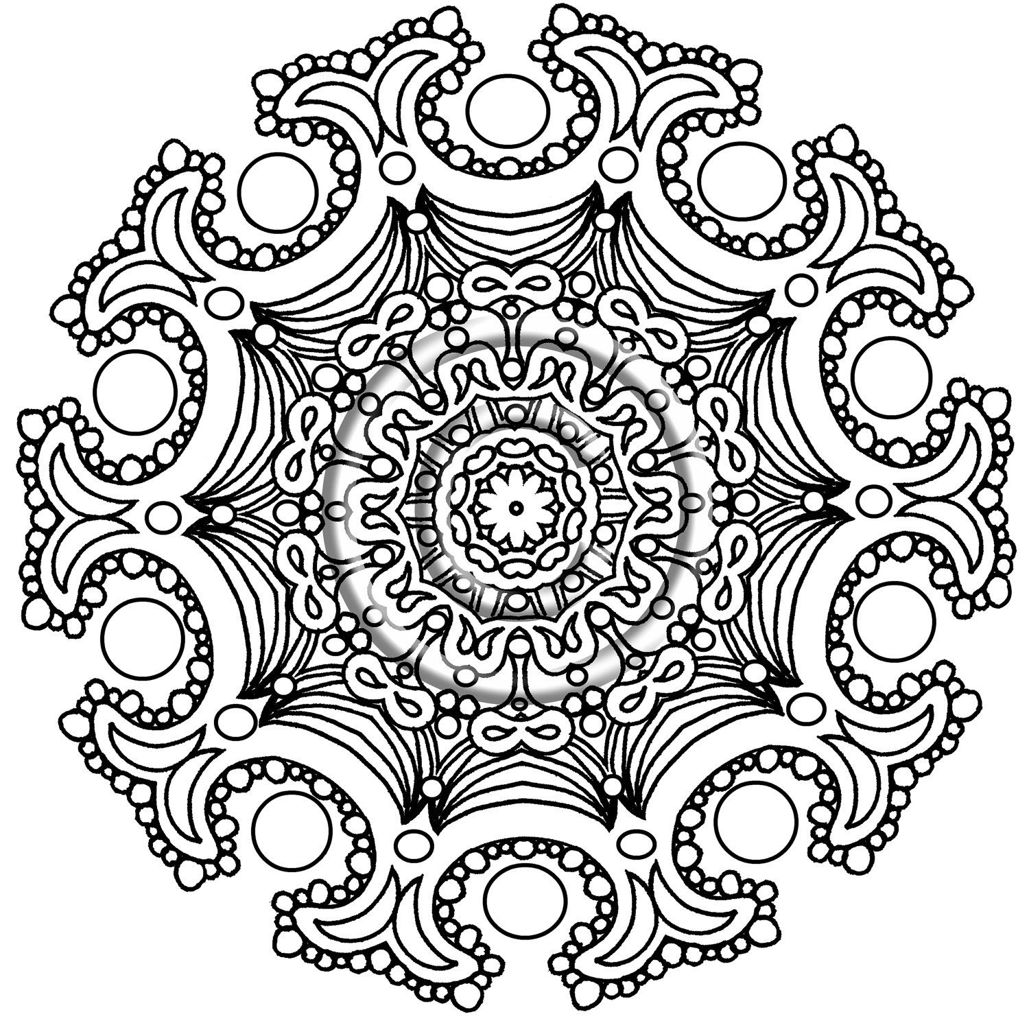 instant png download coloring page hand drawn by katslovekreations