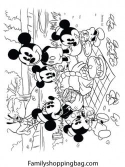 Mickey And Family Coloring Pages Mickey Mouse Coloring Pages Cartoon Coloring Pages Disney Coloring Pages