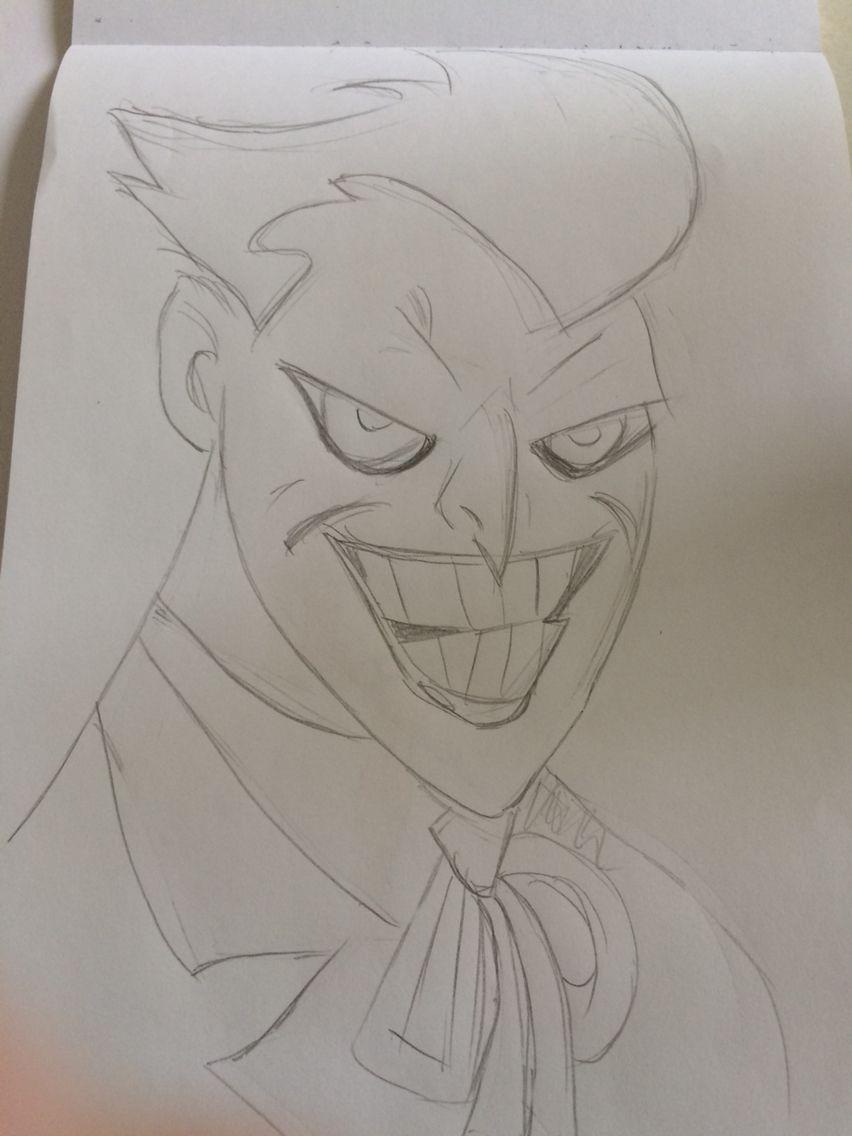 The joker pencil sketch drawings drawings sketches pencil