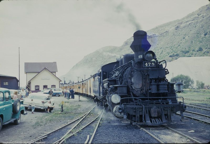 1960's original 35mm slides of the D&RGW Steve Eriksen