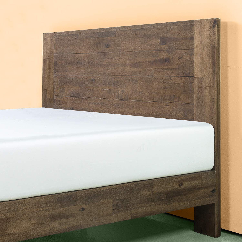 Amazon Com Zinus Swpbbhg 12t Tonja Platform Bed Twin Brown