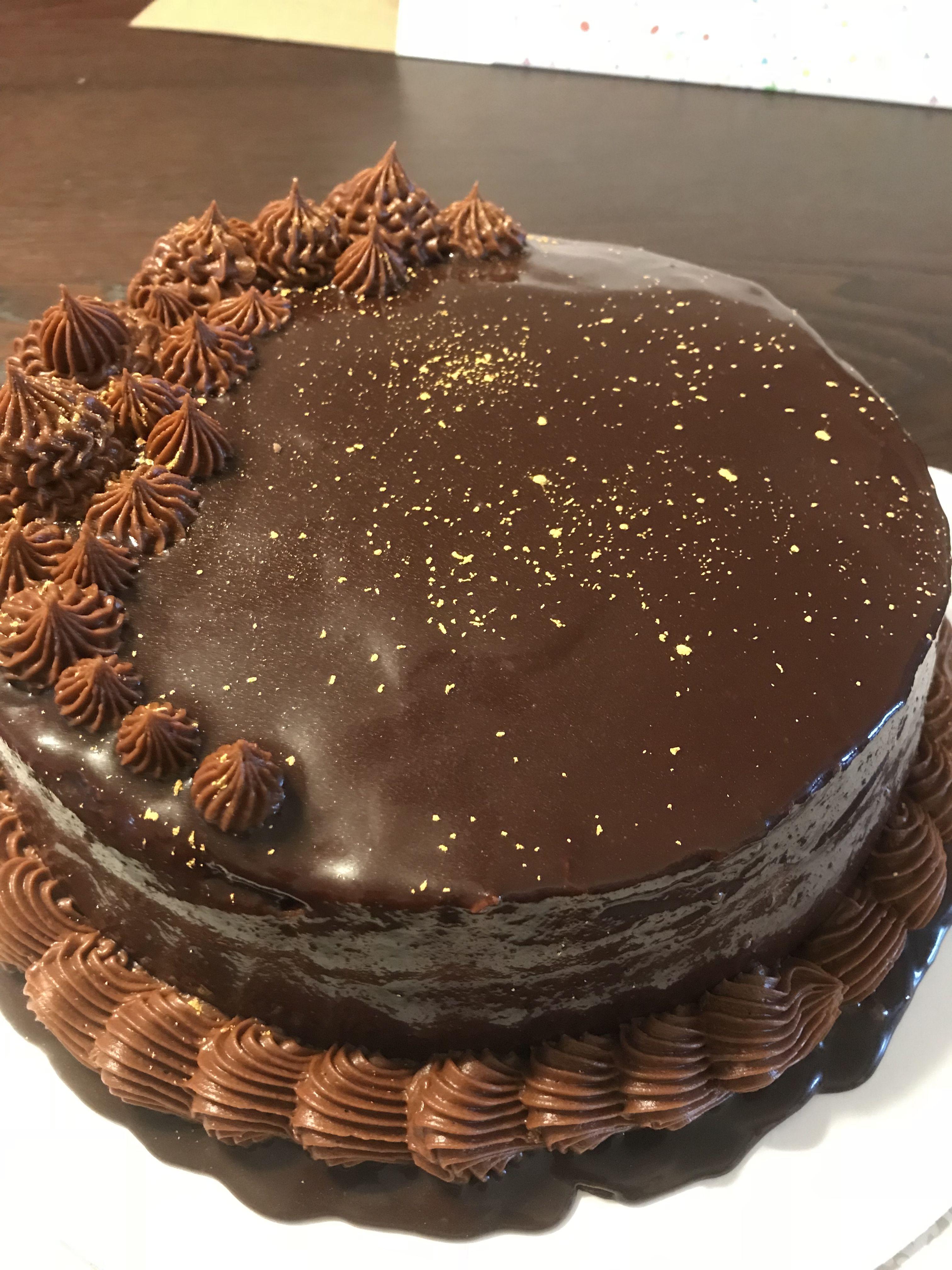 Boston Cream Pie Cake Birthday