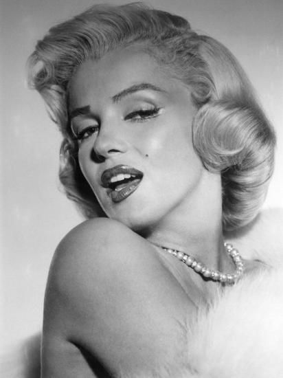 'Marilyn Monroe, Mid 1950s' Photo - | AllPosters.com