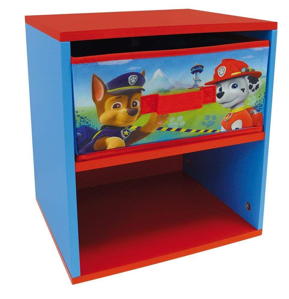 Schöner Paw Patrol Nachttisch, mit Schublade. Der kleine