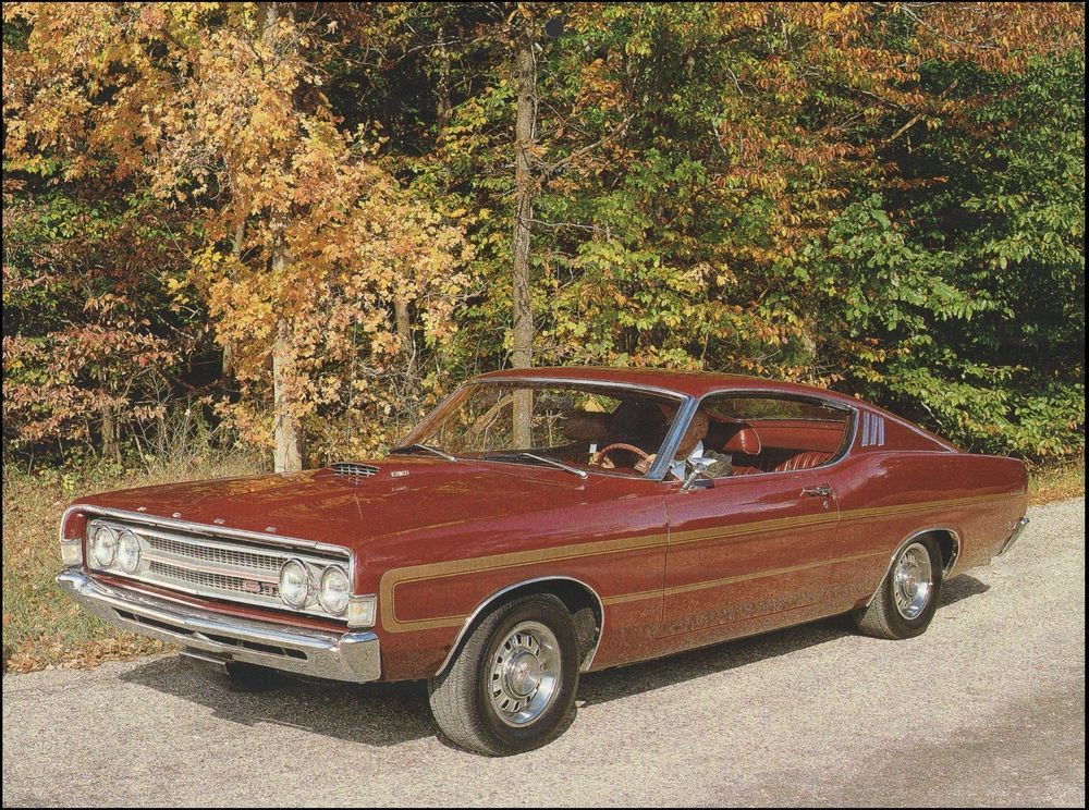 details about 69 ford torino gt 1969 classic car 8 x 11 pin up rh pinterest com