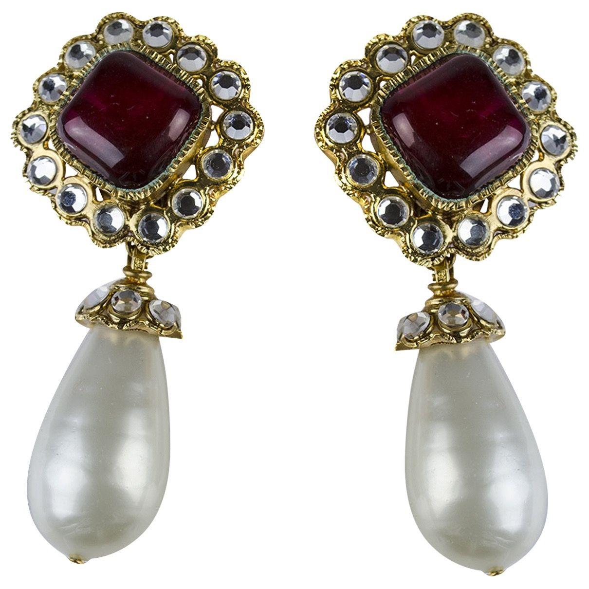 Chandelier Earrings Chanel Catchys