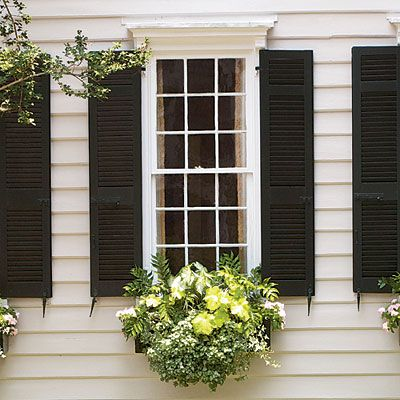 Add Charm with Window Boxes... Beautiful gardens in miniature—that's the essential appeal of window boxes. No matter if you lack the time, money, or energy to maintain large, sumptuous borders, you can still enjoy colorful flowers and foliage in planters that are small enough to change in five minutes and striking enough to give your house a new look.