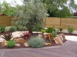 decoration de jardin avec olivier