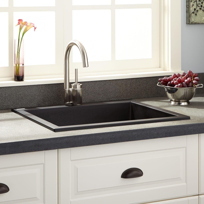 77 Drop In Sink Granite Countertop