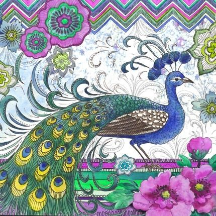Medium | Peacocks | Peacock, Peacock art, Peacock images