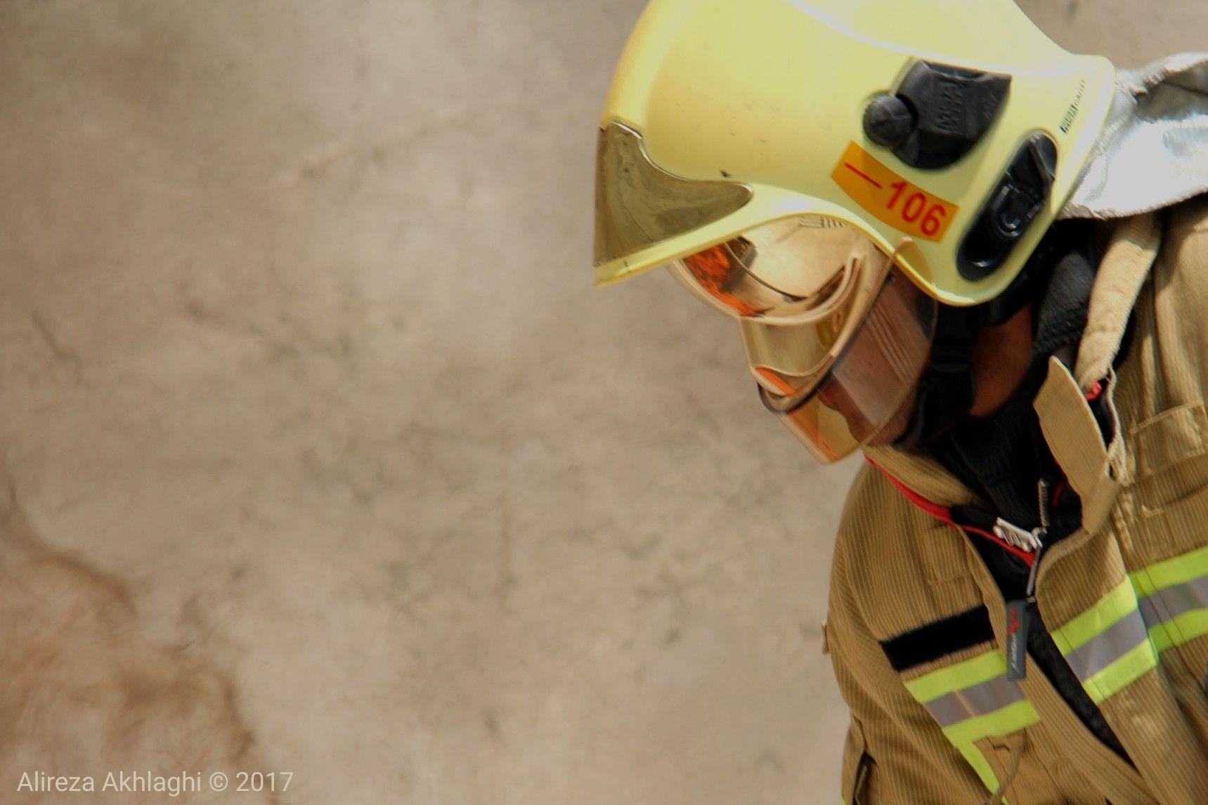 کانون_عکاسان_ایران آتش_نشان آتشنشانان آتش آتشنشان