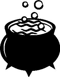 Cauldron Silhouette | pb | Pinterest | Cauldron ...