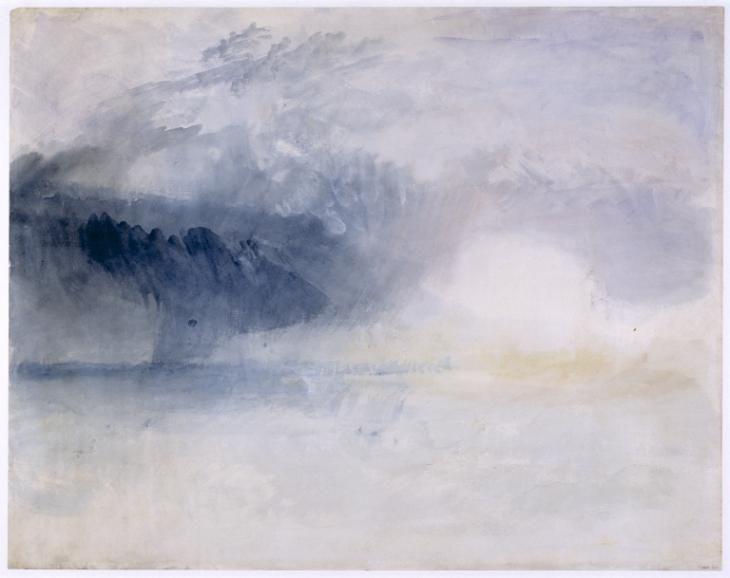 Joseph Mallord William Turner 'Bamburgh Castle, Northumberland', c.1837