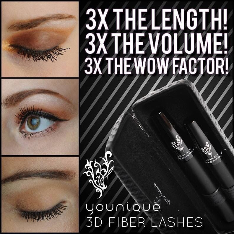 3D fiber lash mascara,try this amazing fiber mascara you will never go back www.youniqueproducts.com/karlla pippen/party/485464/view