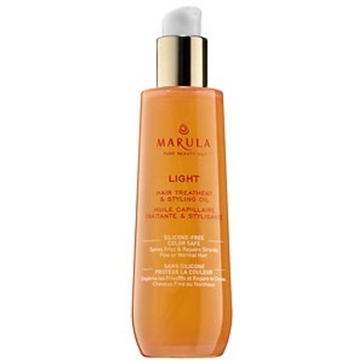 Baby Hair Styling Products New Marula Pure Beauty Oil Light Hair Styling Treatment Fine To