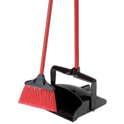 Libman Lobby Broom And Dust Pan Dust Pan Broom And Dustpan Libman