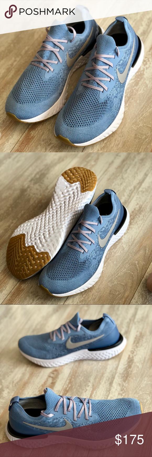 bccff8e955444 NWT Nike ID Epic react Custom Blue Brand new no box