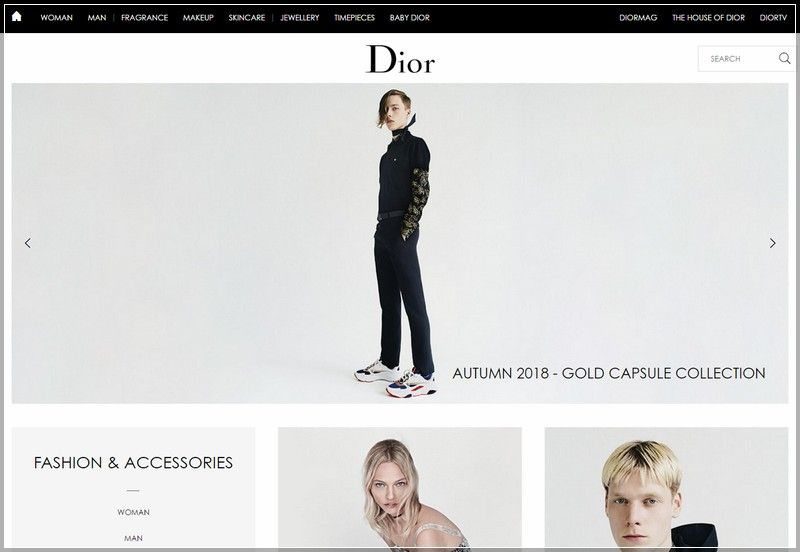 101 Best Fashion Web Design Ideas And Inspirations Fashion Web Design Fashion Website Design Cool Style