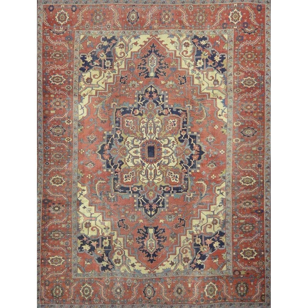 Antique Persian Hertz Rug Are The