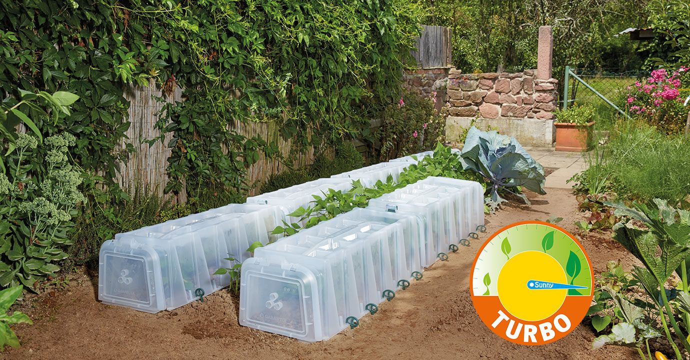 Pflanztunnel Turbo Pflanzen Garten Bewasserung