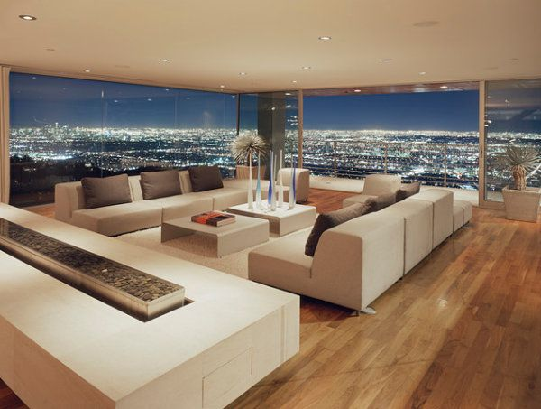 how to decorate a room with a city view | staging | living room