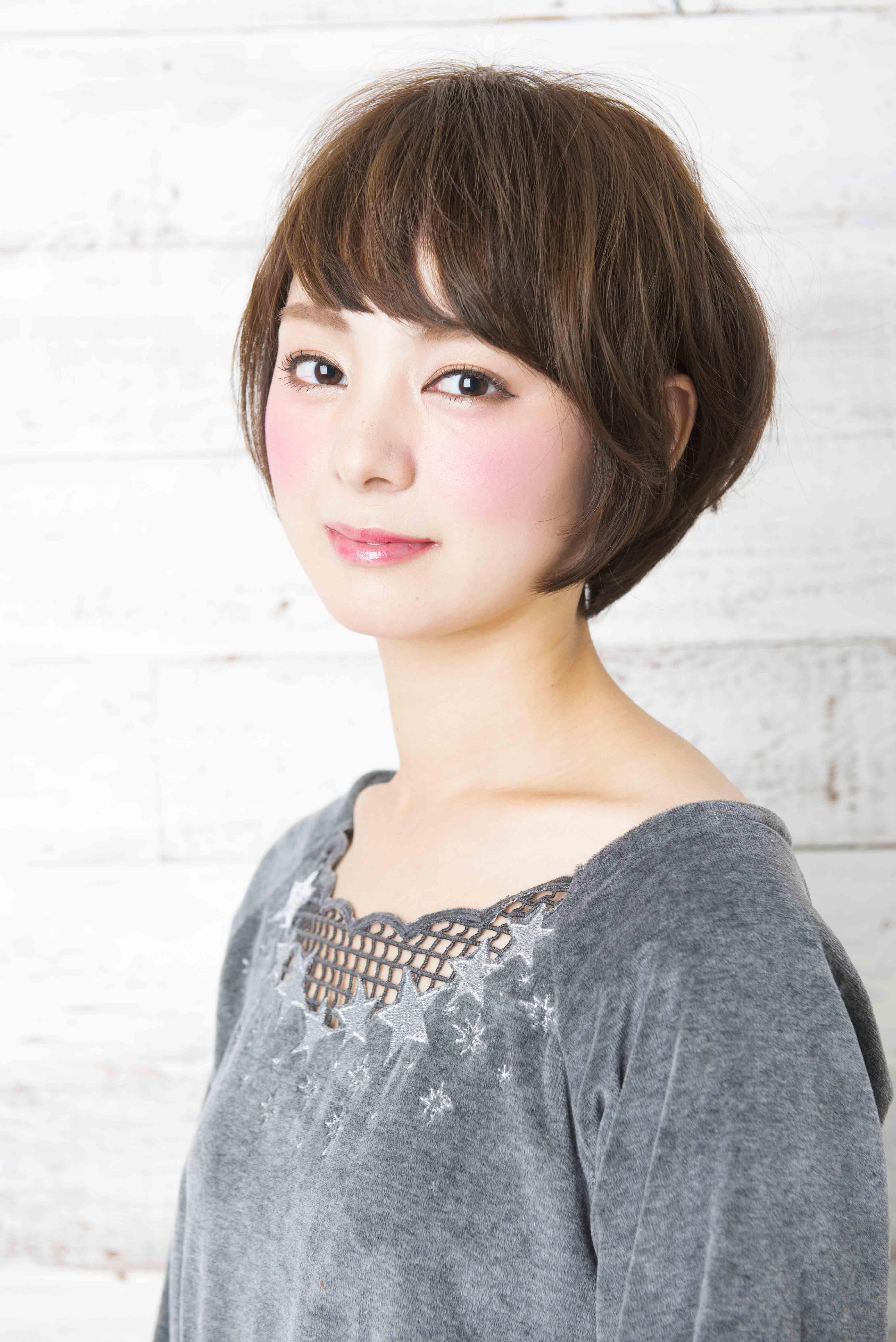 Short hair yuzo hasegawa hair designapish ふんわり柔らかな質感