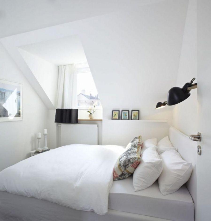 schlafzimmer gestalten dunkle möbel in 2019 Room, Attic