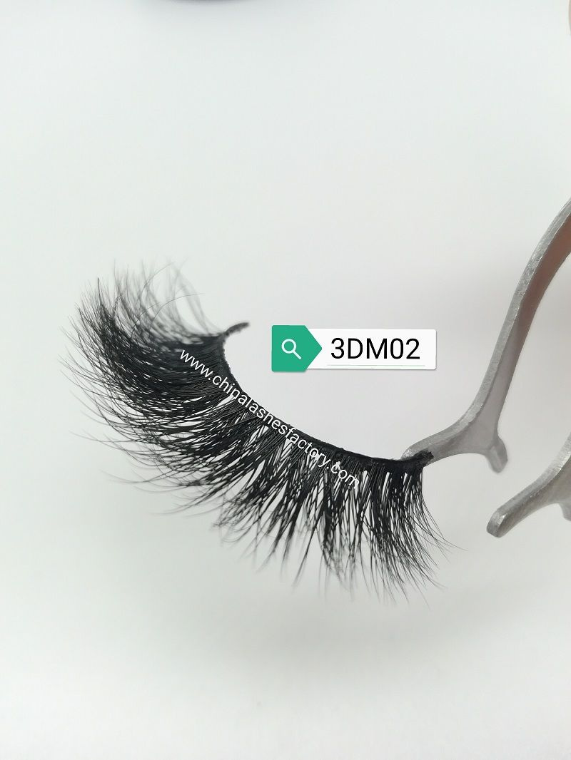 Newest 3D Mink Lashes & 3DM02🎉 Multilayers with fluffy
