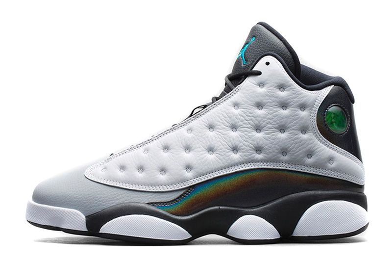 83d3d07bc5d071 Air Jordan 13 (XIII) Retro Barons White Black-Grey-Teal For Sale Air Jordan  13 - Nike official website Up to 50% discount