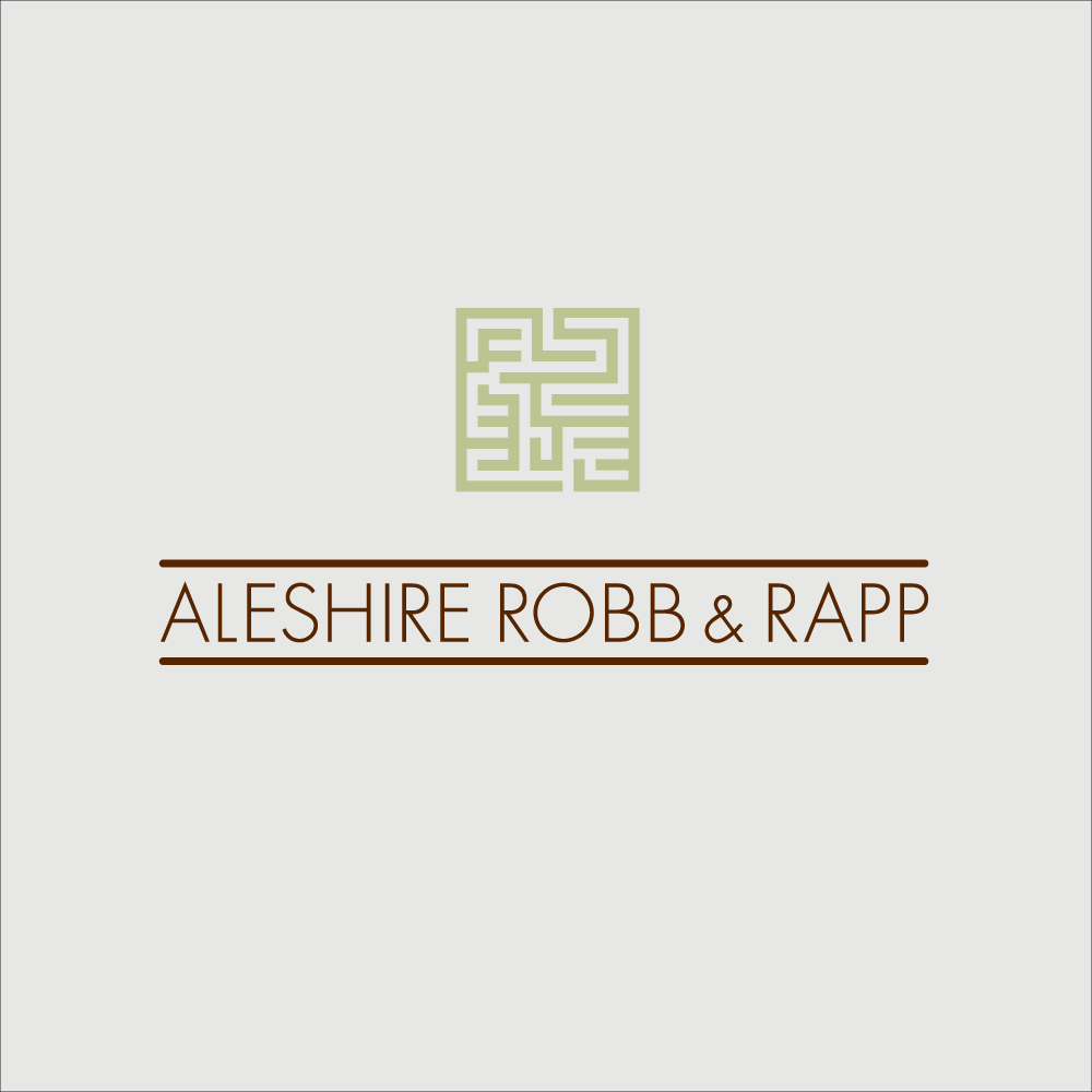 Aleshire Robb Rapp Logo And Branding Design Springfield Missouri Law Firm Aleshirerobb Rapp Logo Branding Design Law Firm Website Design Law Firm Marketing