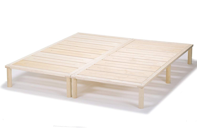 Gigapur G1 26974 Bett Bettgestell Mit Lattenrost Bettrahmen Belastbar Bis 195 Kg Holzbett 140 X 200 Cm 2 X Holz Bettrahmen Wohnzimmertische Bettgestell