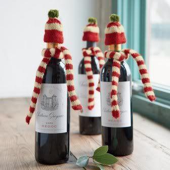 tapas botella navidad