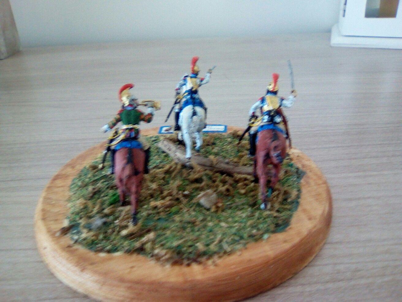 Italeri 1/72 cavalier 1er carabiniers